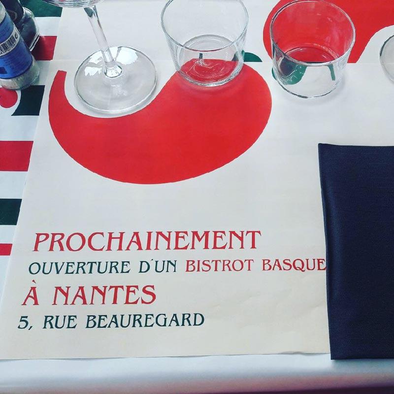 Bistrot Basque Nantes ouverture